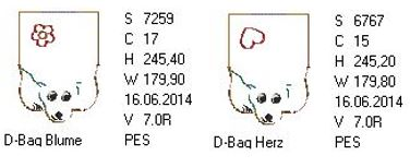 DK Doggy Bag 30x18