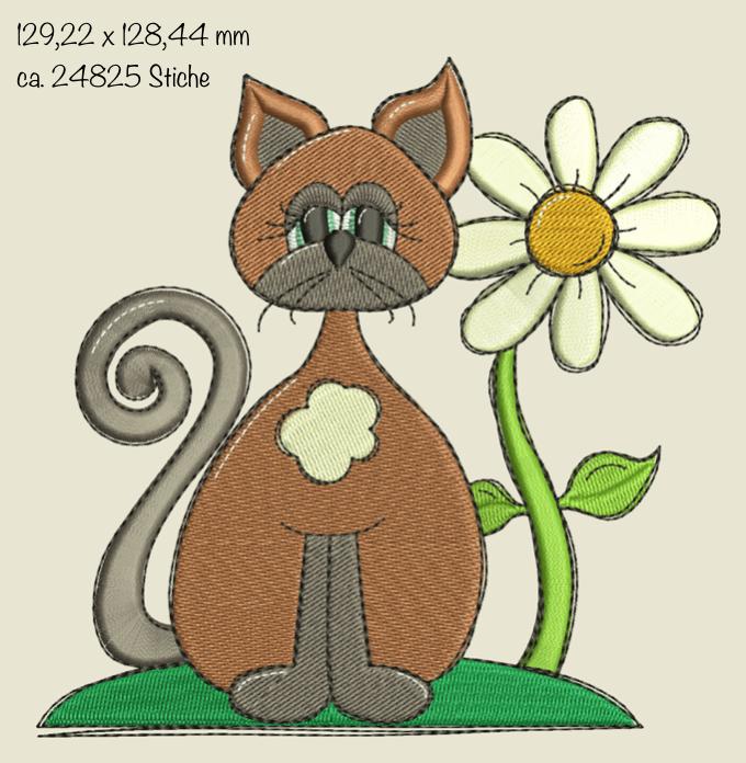 Dateimaße Mieze Dorle Doodle Füllstich