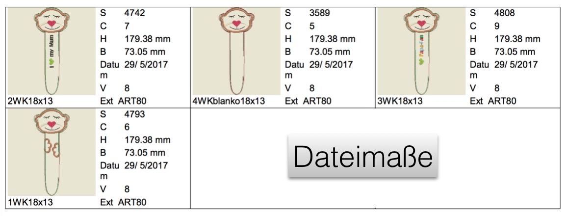 Dateimaße Wurm Konrad
