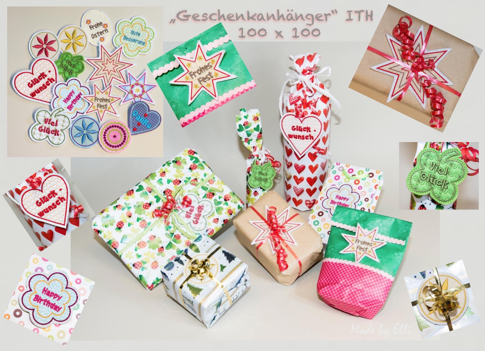 Geschenkanhänger ITH 10x10