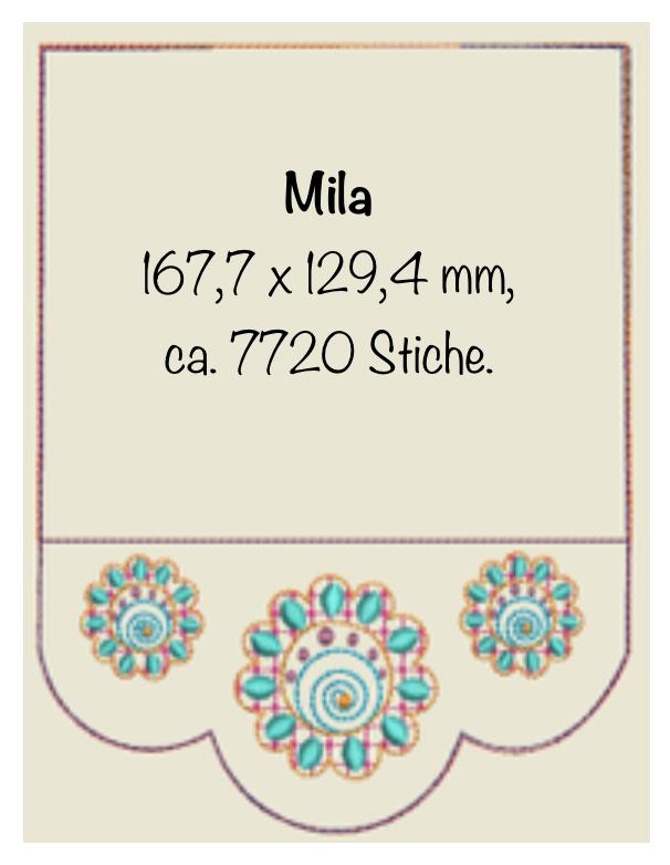 Dateimaße Mila