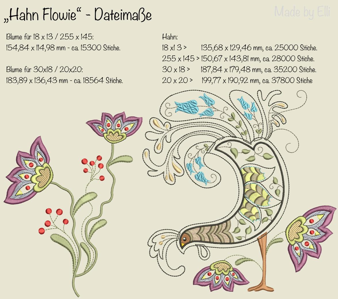 Dateimaße Hahn Flowie
