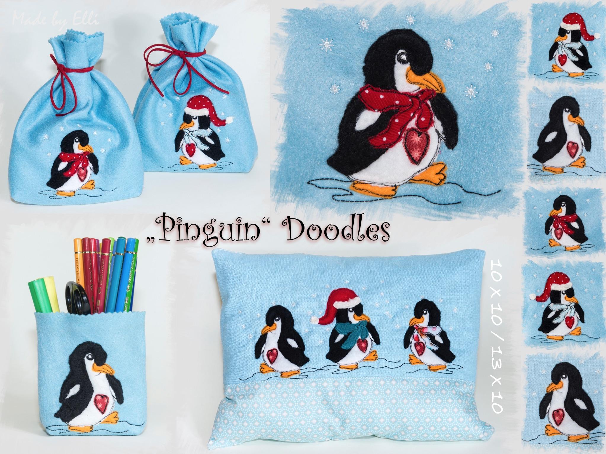 Pinguin Doodles