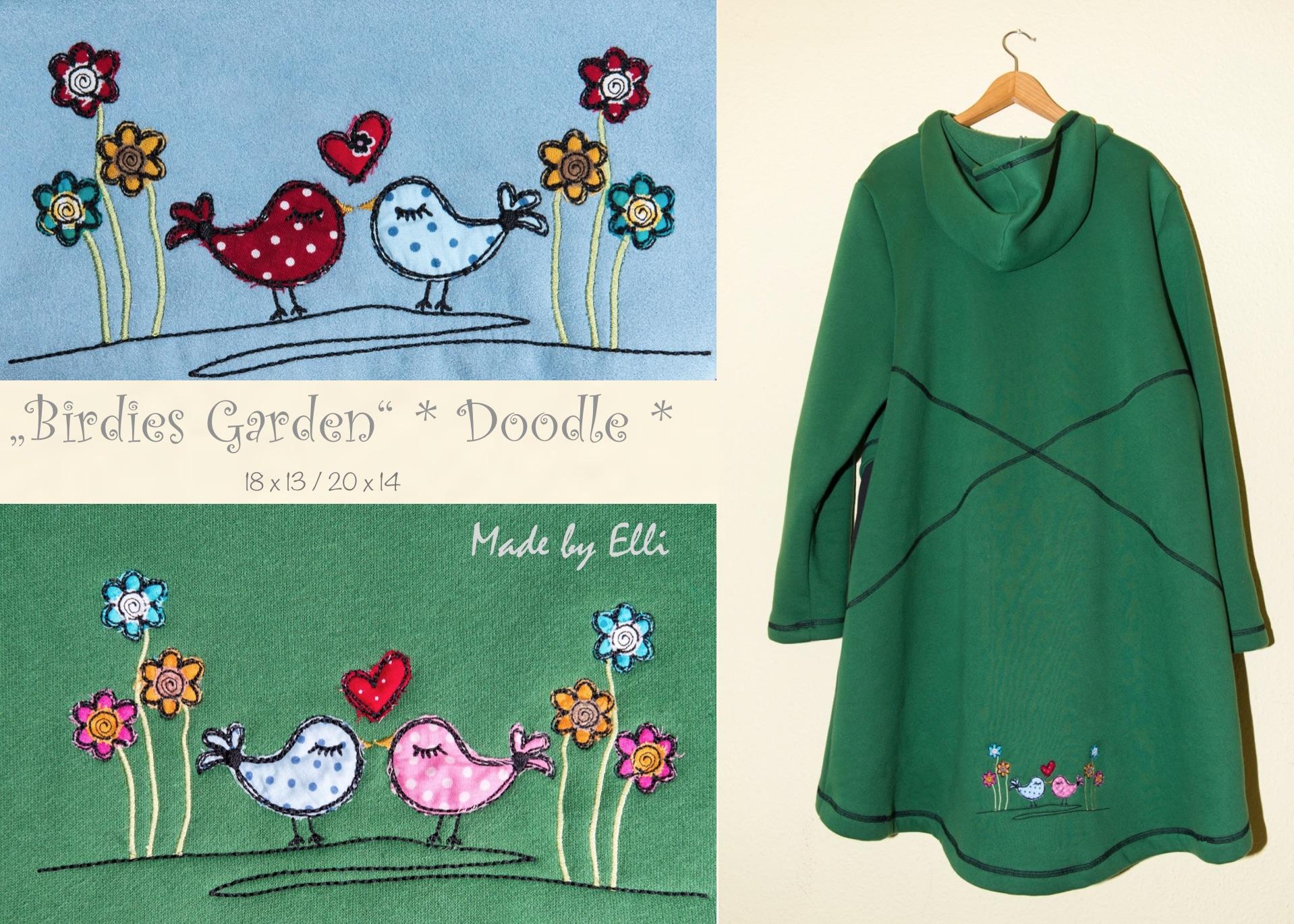 Birdies Garden Doodle