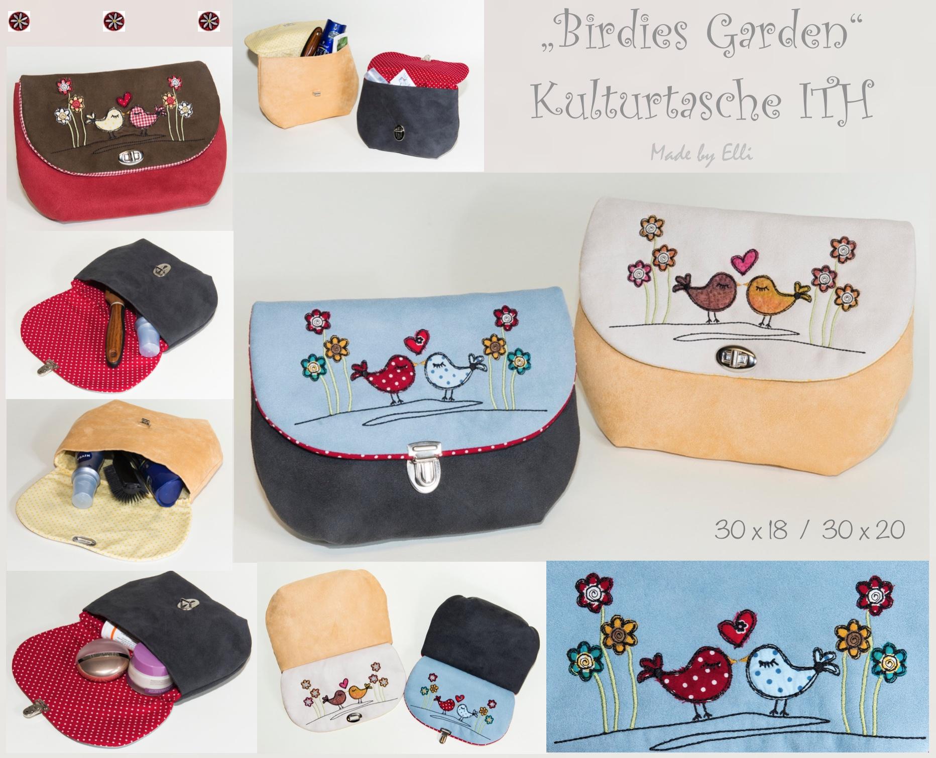 Birdies Garden Kulturtasche ITH