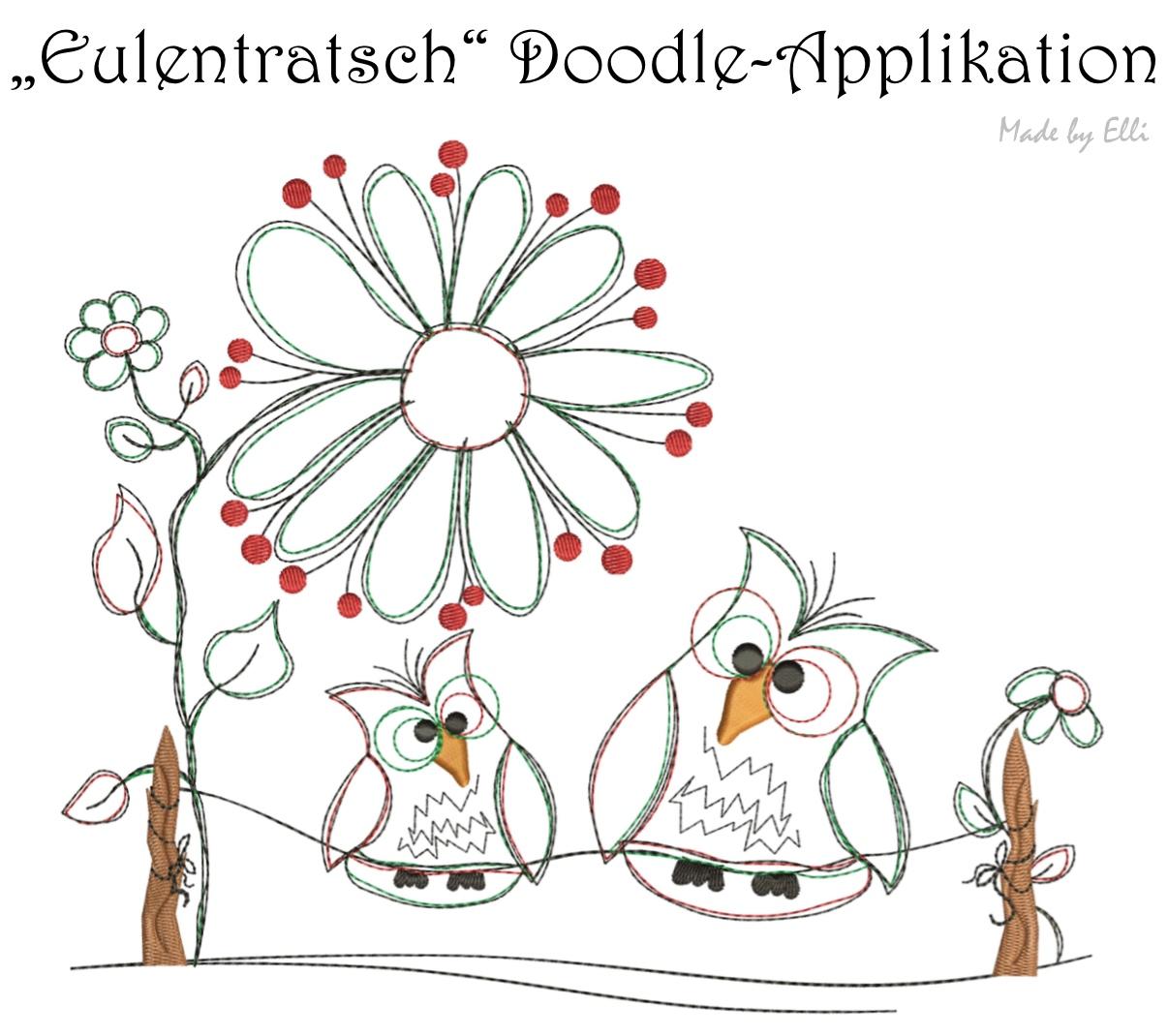 Eulentratsch - Doodle-Applikation