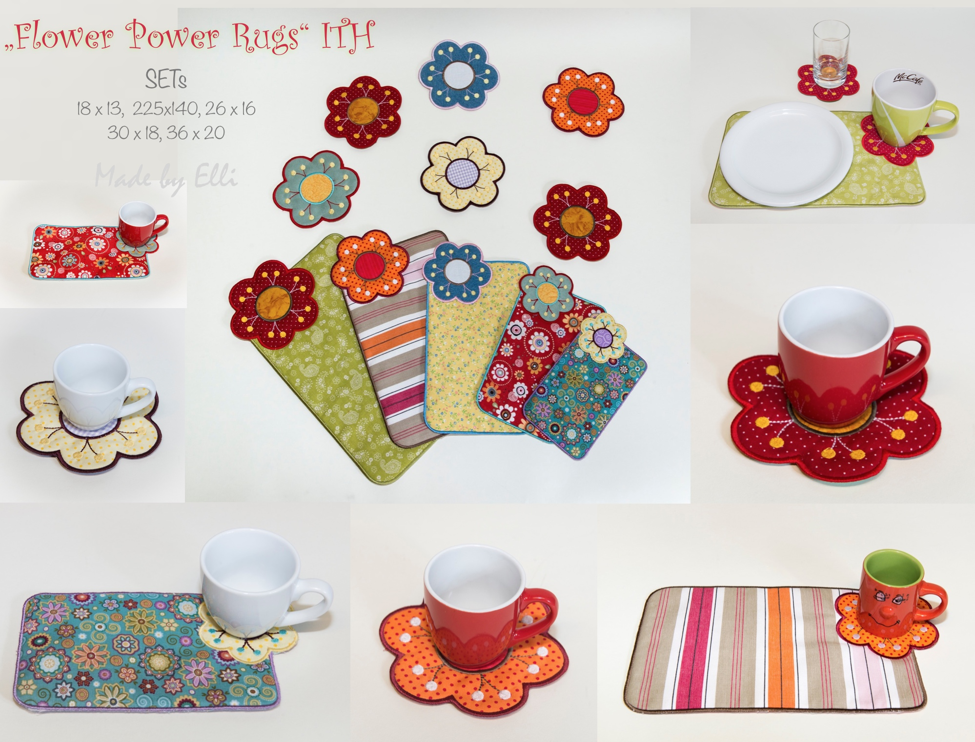 Flower Power Rugs ITH