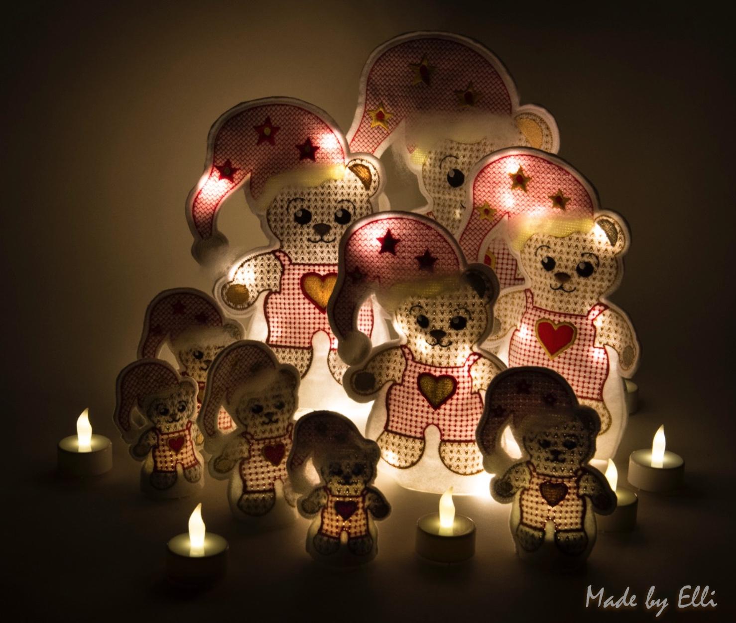 LED-Weihnachtsbären