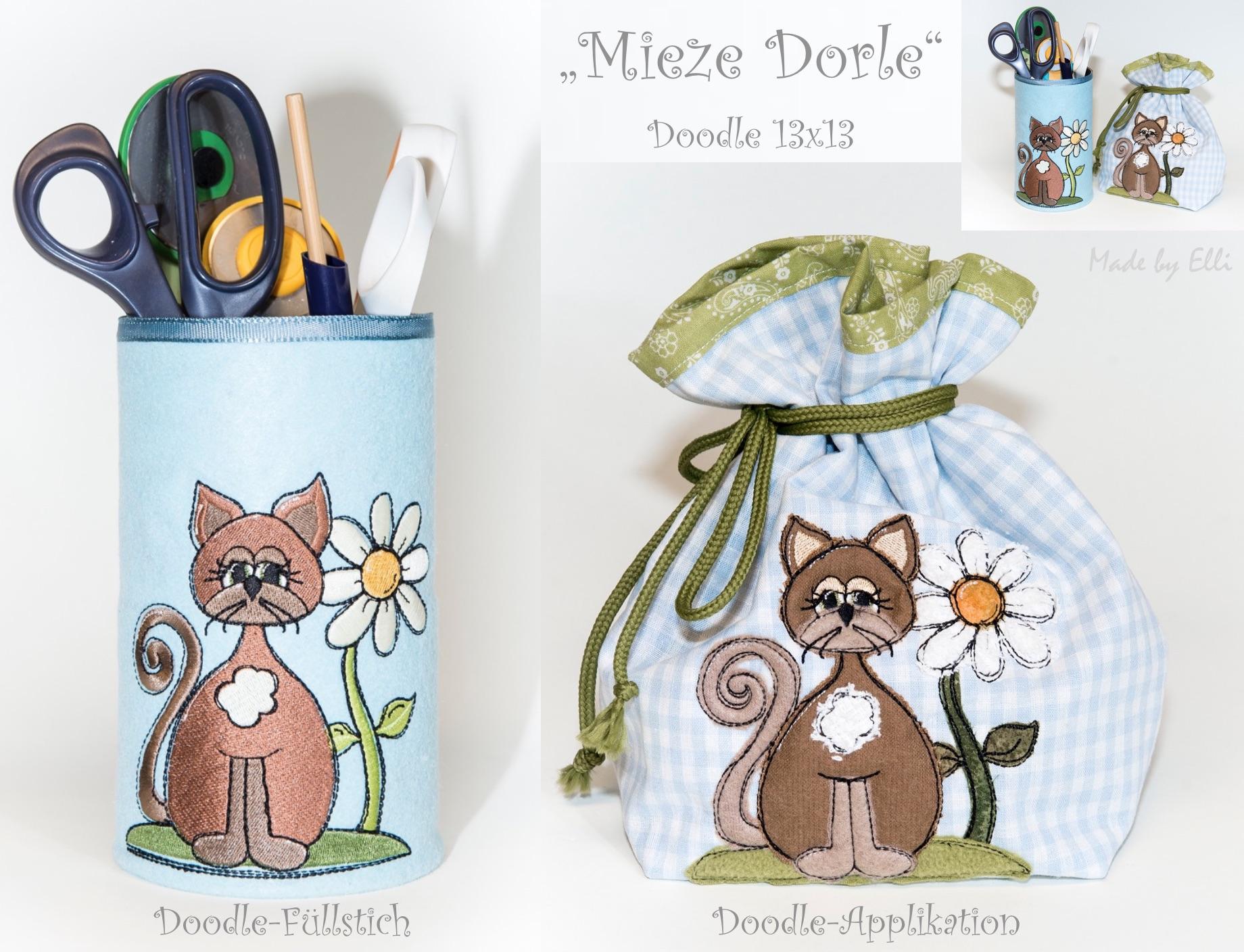 Mieze Dorle Doodles