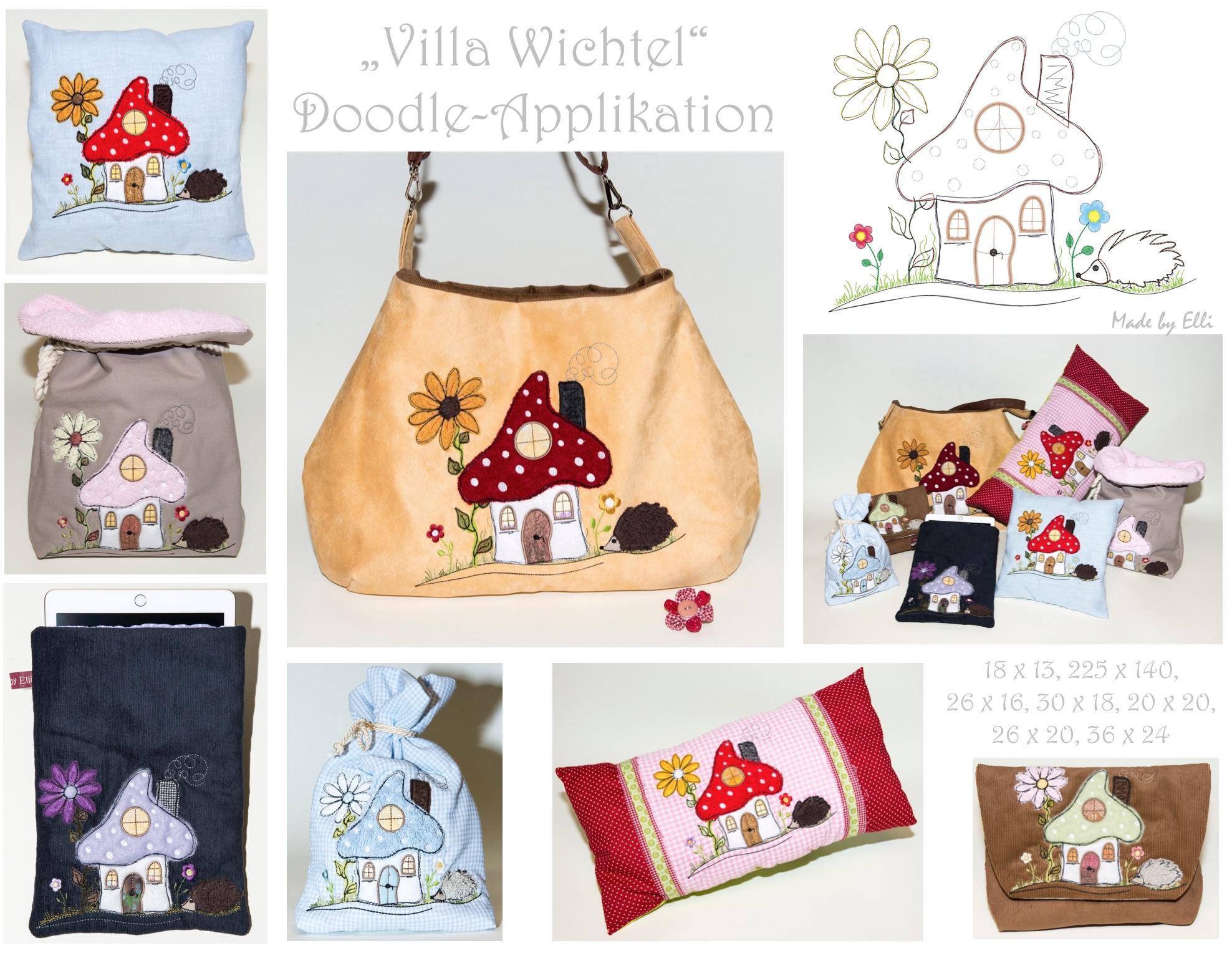 Villa Wichtel - Nähbeispiele