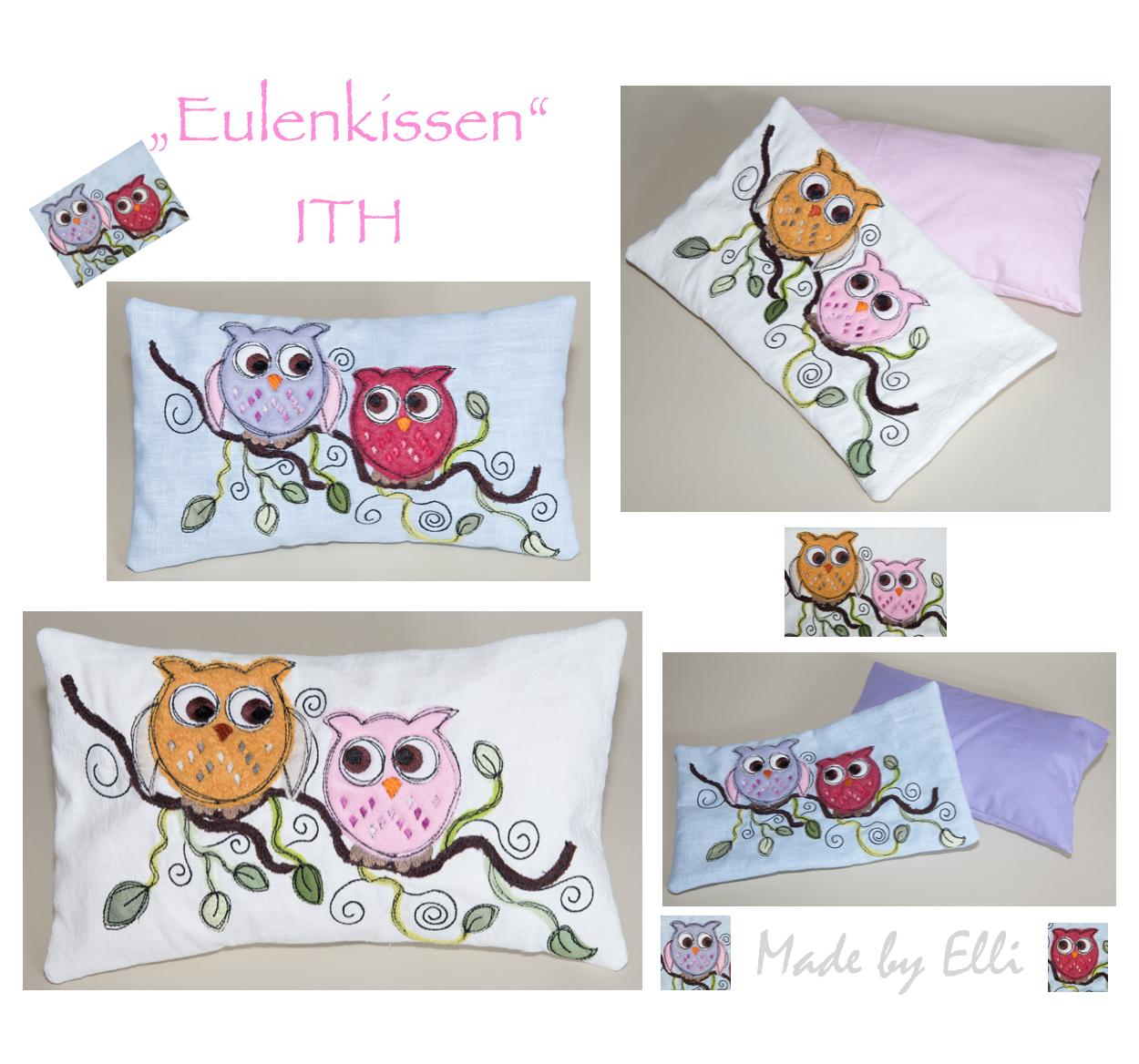 Eulenkissen iTH 30x18
