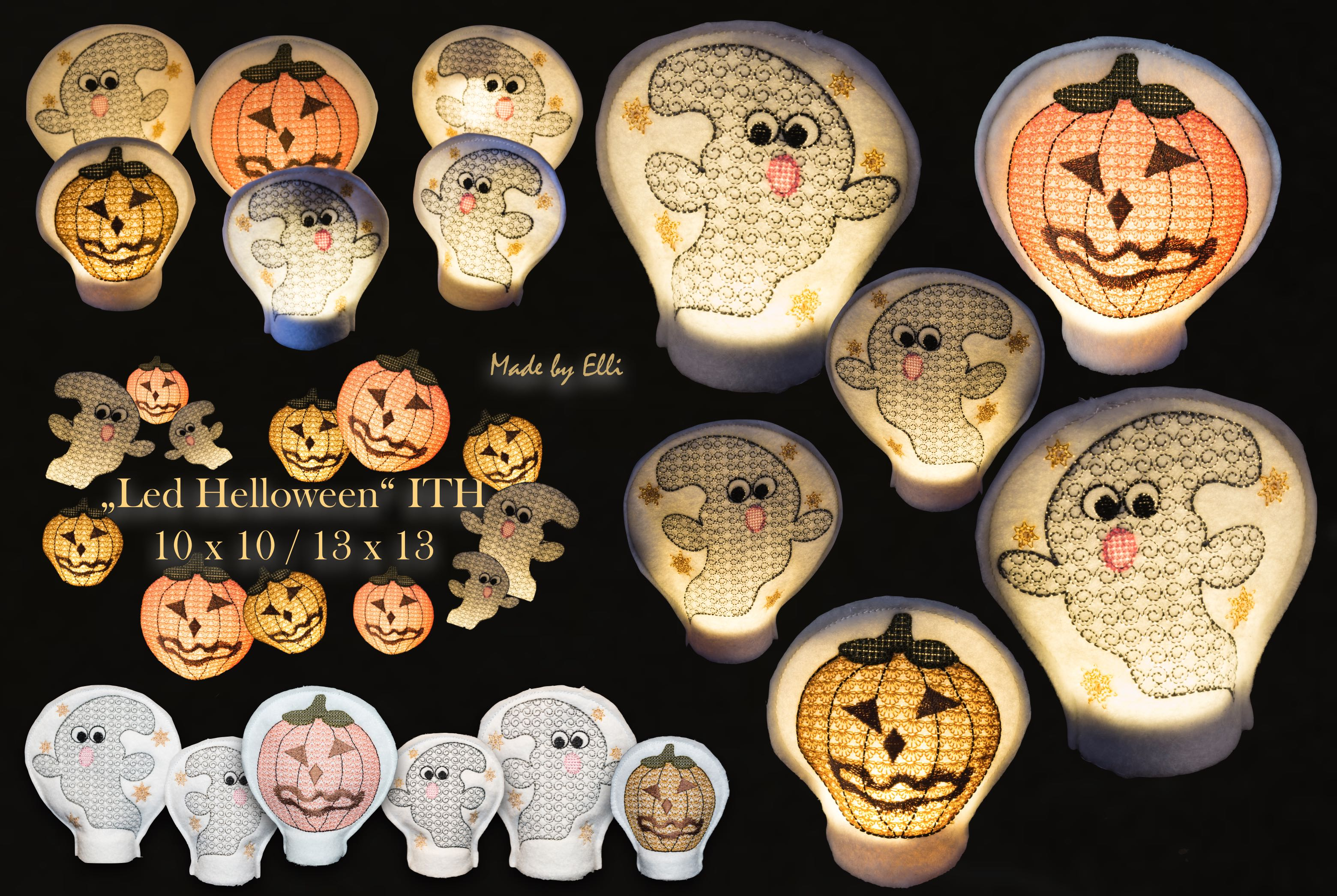 LED Covers Helloween