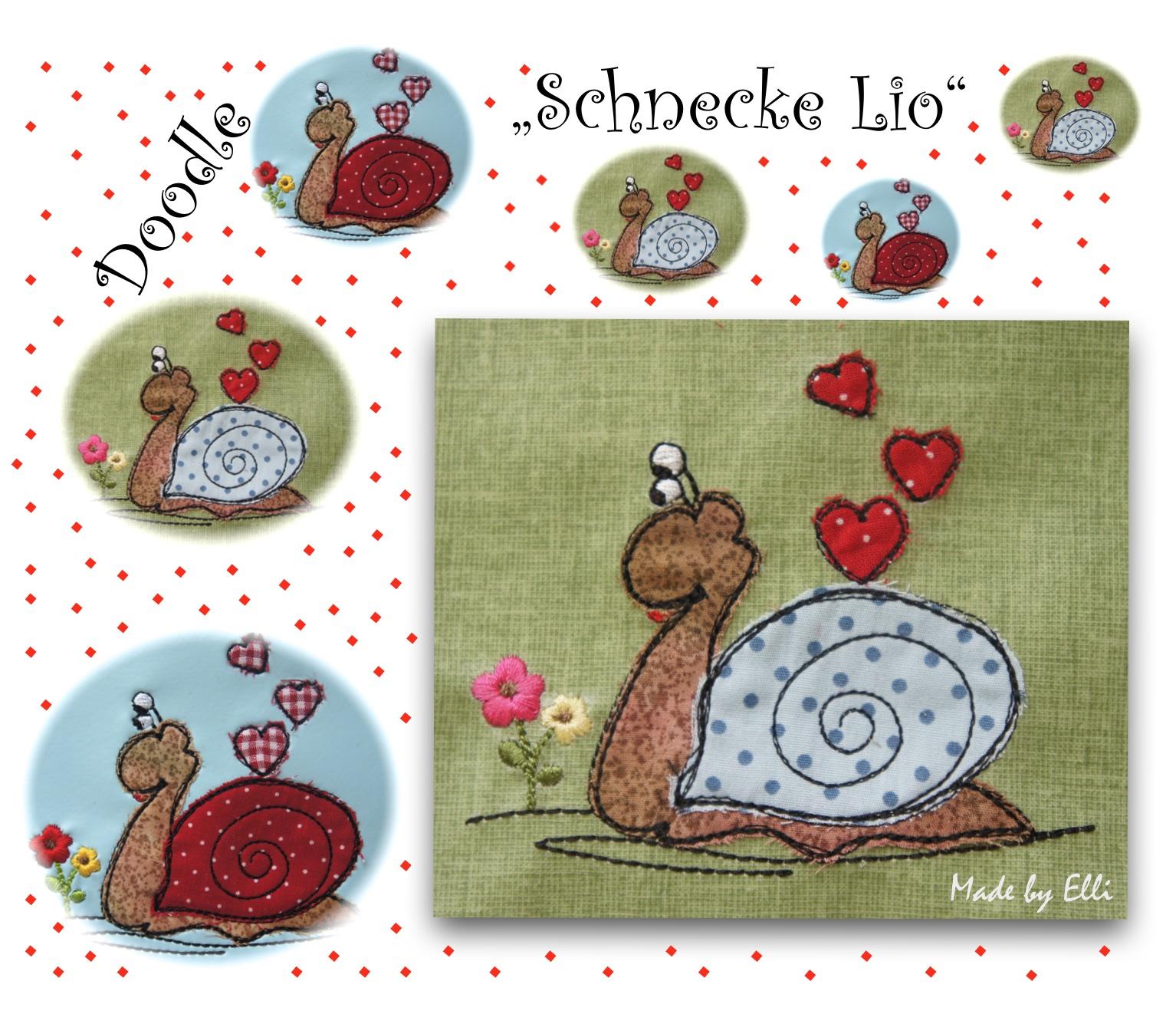 Schnecke Lio Doodle
