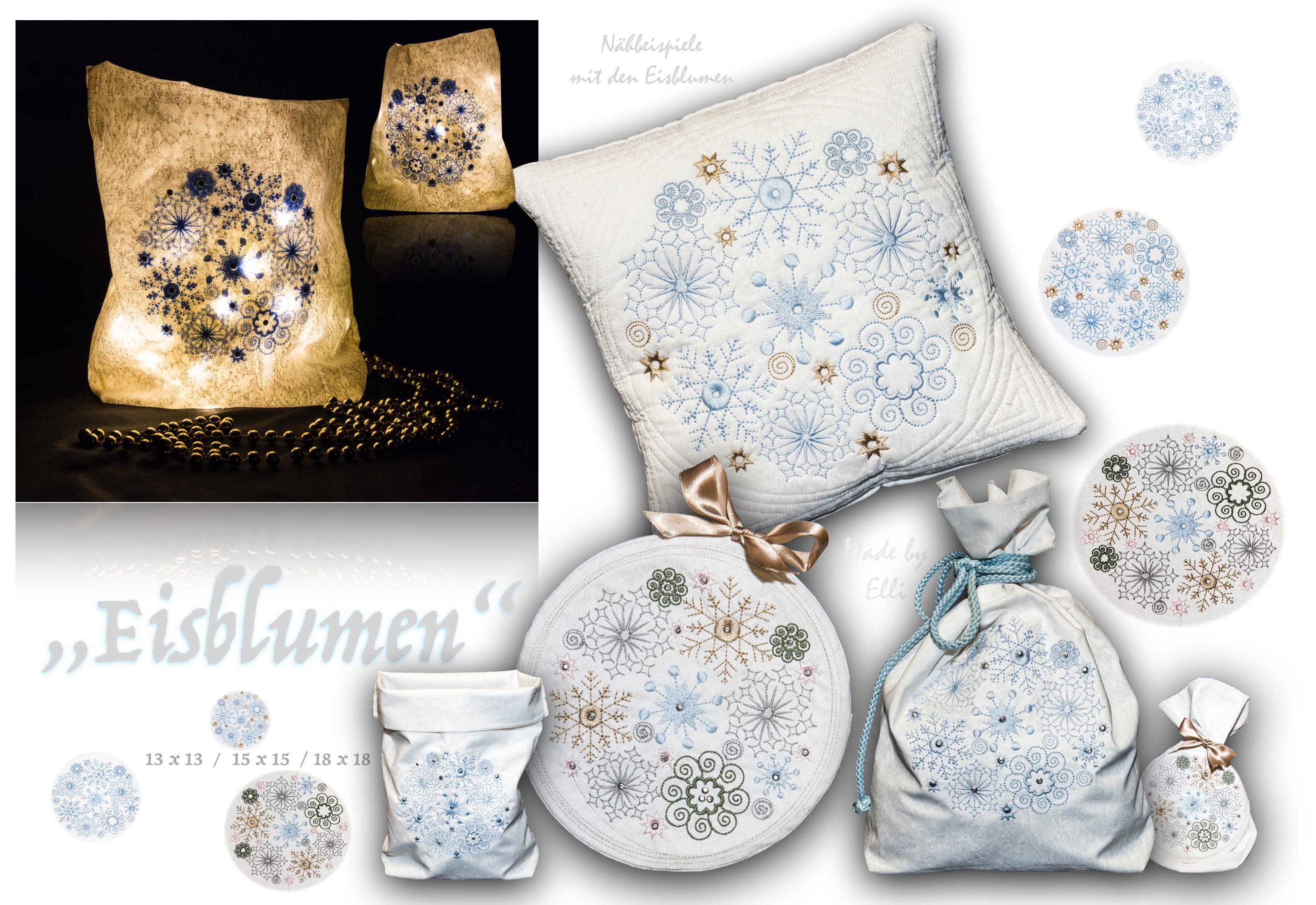 Eisblumen Beispiele