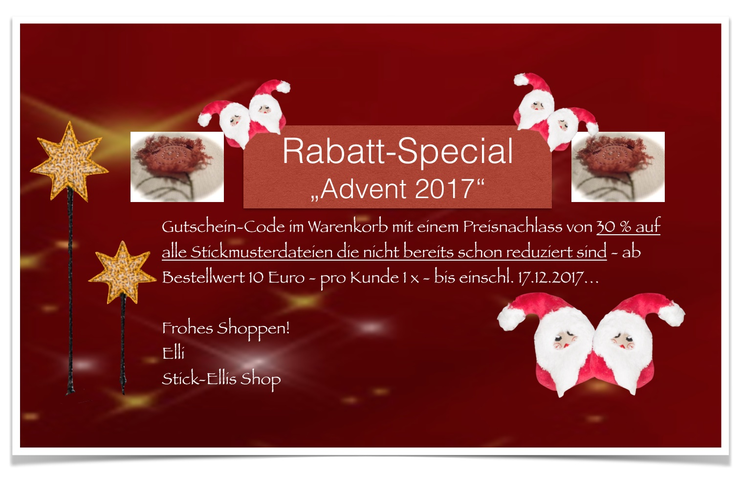 Rabatt-Special Advent17