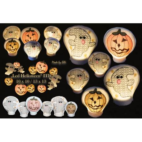 LED Covers Helloween ITH - ab Variante wählen