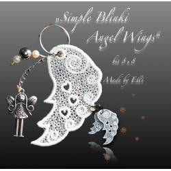 Stickdateien Simple Blinki Angel Wings bis 8 x 8