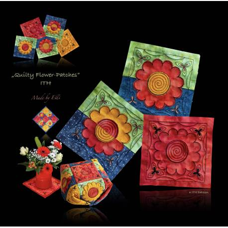 Stickdateien Quilty Flower Patches ITH ab 11.90